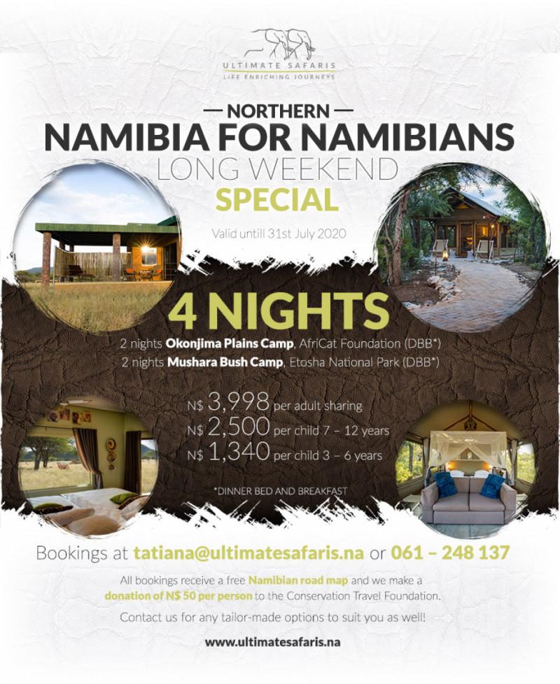 4 Nights Northern Namibia