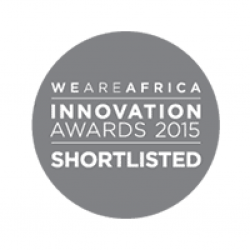 Award We Are Africa Innovation Awards 2015 Shortlisted