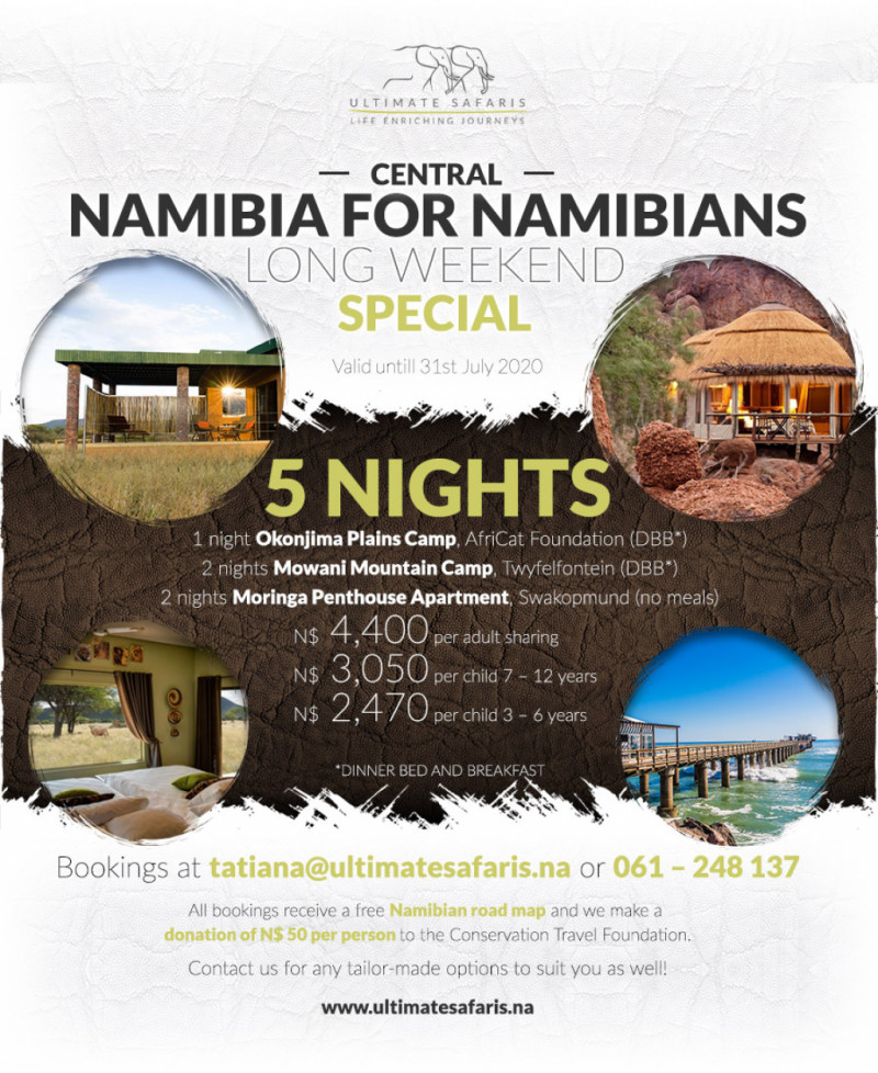 5 Nights Central Namibia
