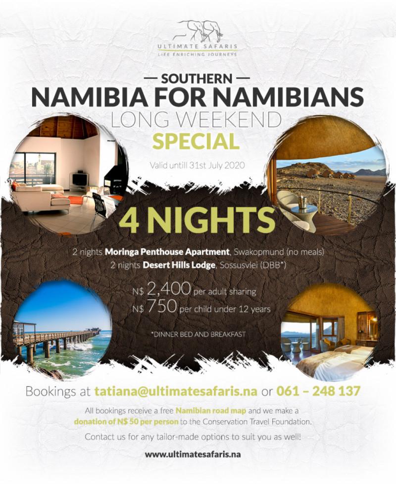 4 Nights Southern Namibia