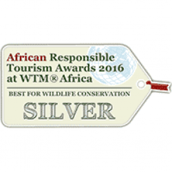 Award African Responsible Tourism Awards 2016 Best For Wildlife Conservation
