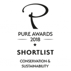 Award Pure Awards 2018 Shortlist Conservation Sustainability