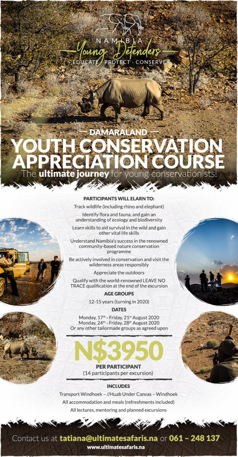 Youth Conservation Appreciation Course