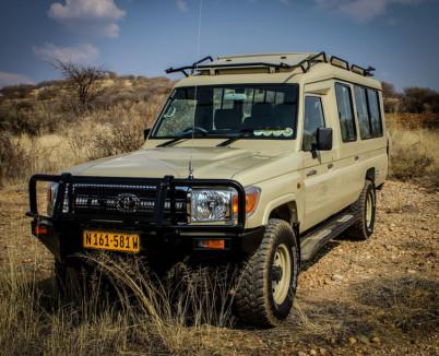 Our Safari Vehicles