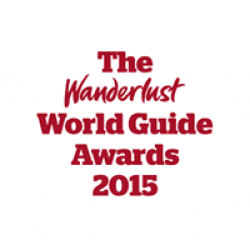 Award The Wunderlust World Guide Awards 2015