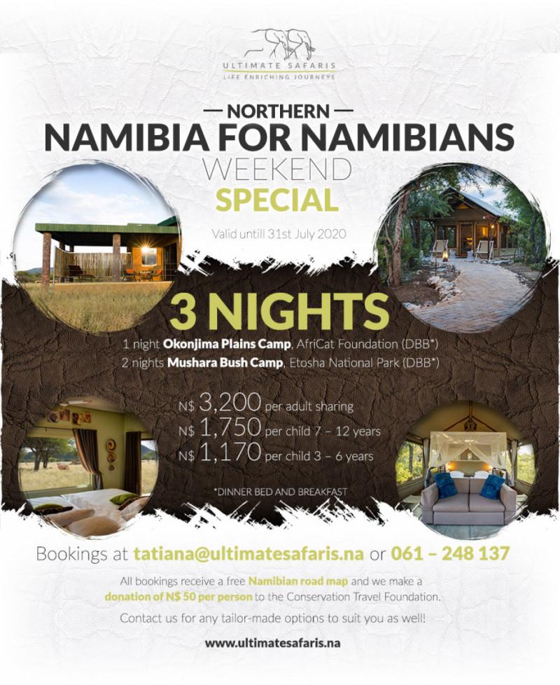 3 Nights Northern Namibia