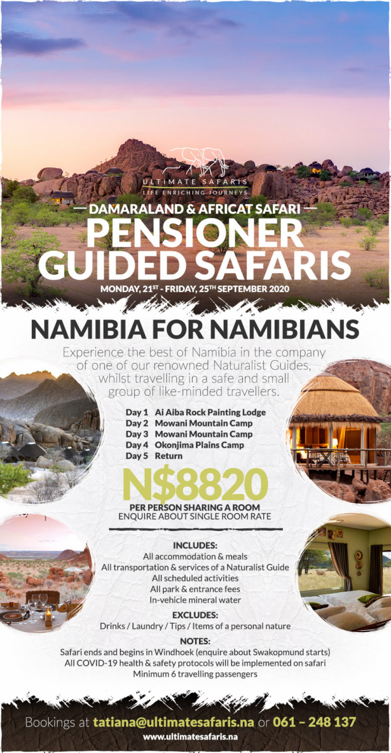 Pensioner Guided Safaris