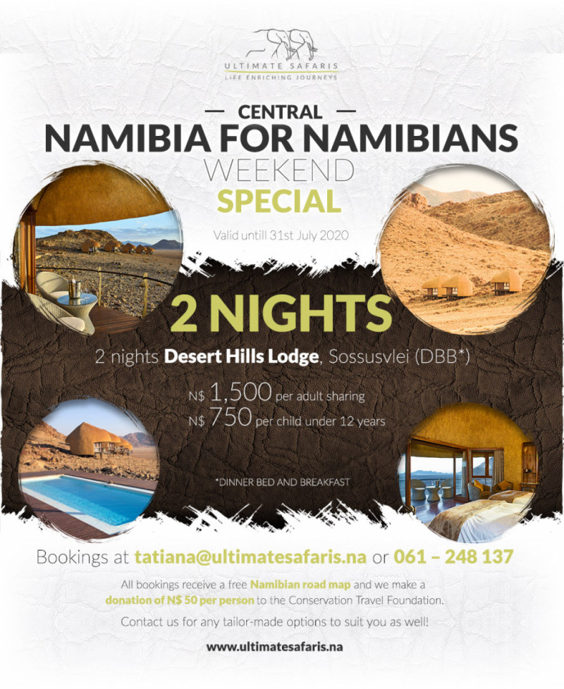 2 Nights Central Namibia
