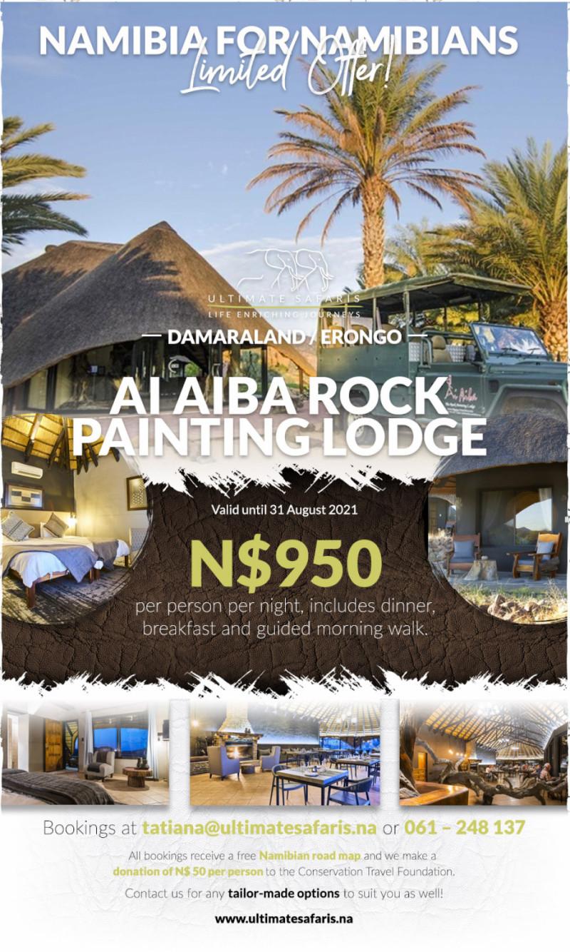Damaraland-Erongo---Ai-Aiba-Rock-Painting-Lodge-