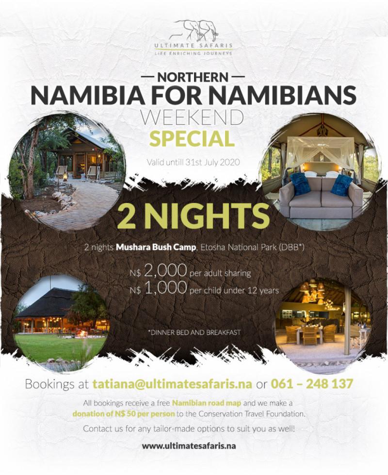 2 Nights Northern Namibia