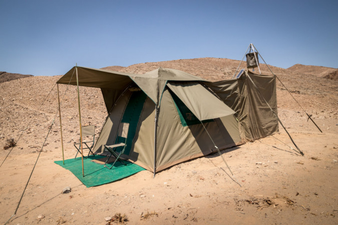 Mobile Dome Camp