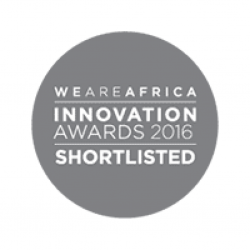 Award We Are Africa Innovation Awards 2016 Shortlisted