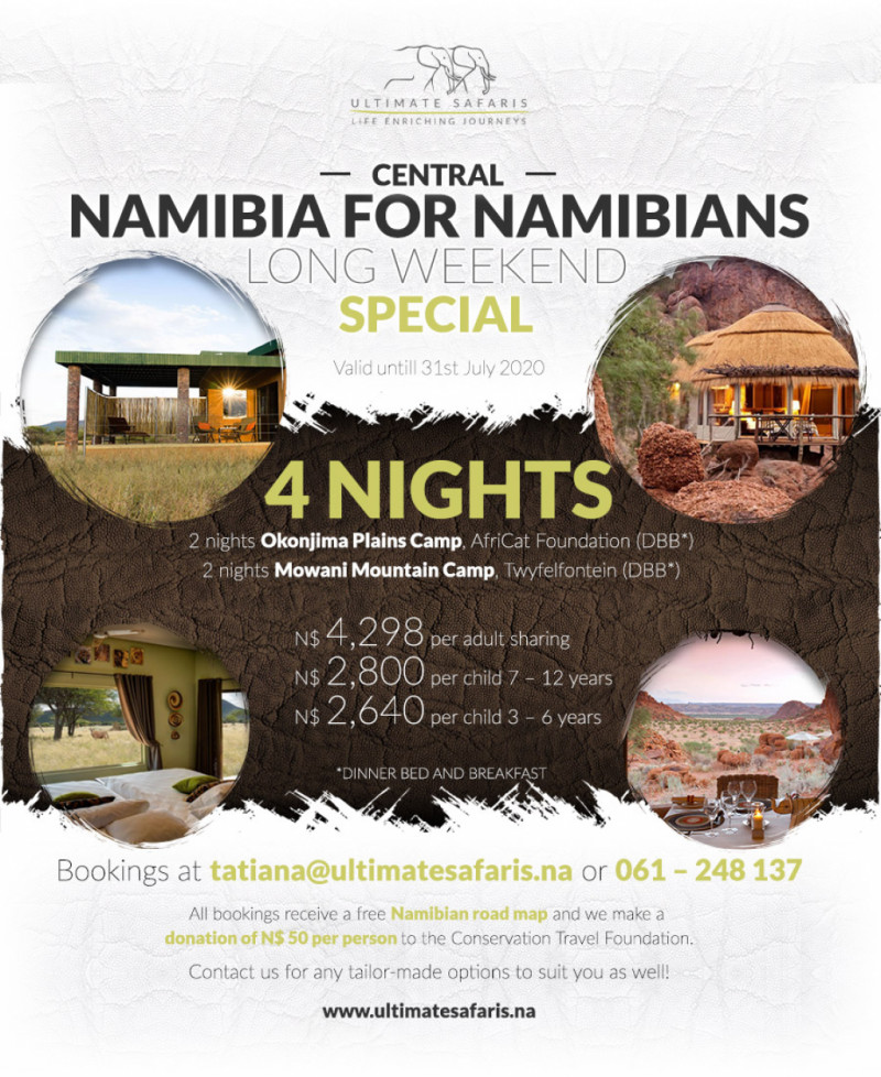 4 Nights Central Namibia
