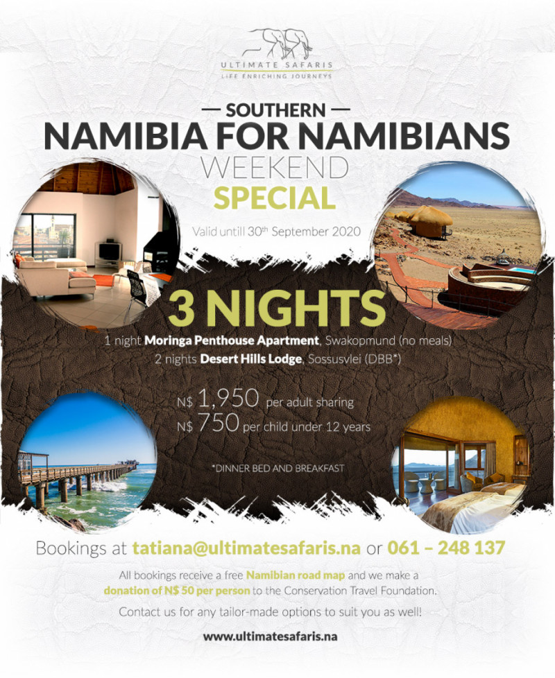 WEEKEND NAMIBIA SPECIAL PACKAGES