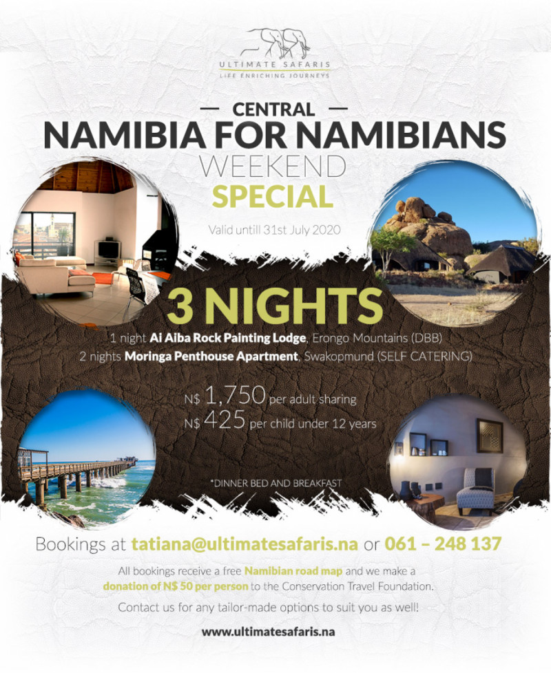 3 Nights Central Namibia