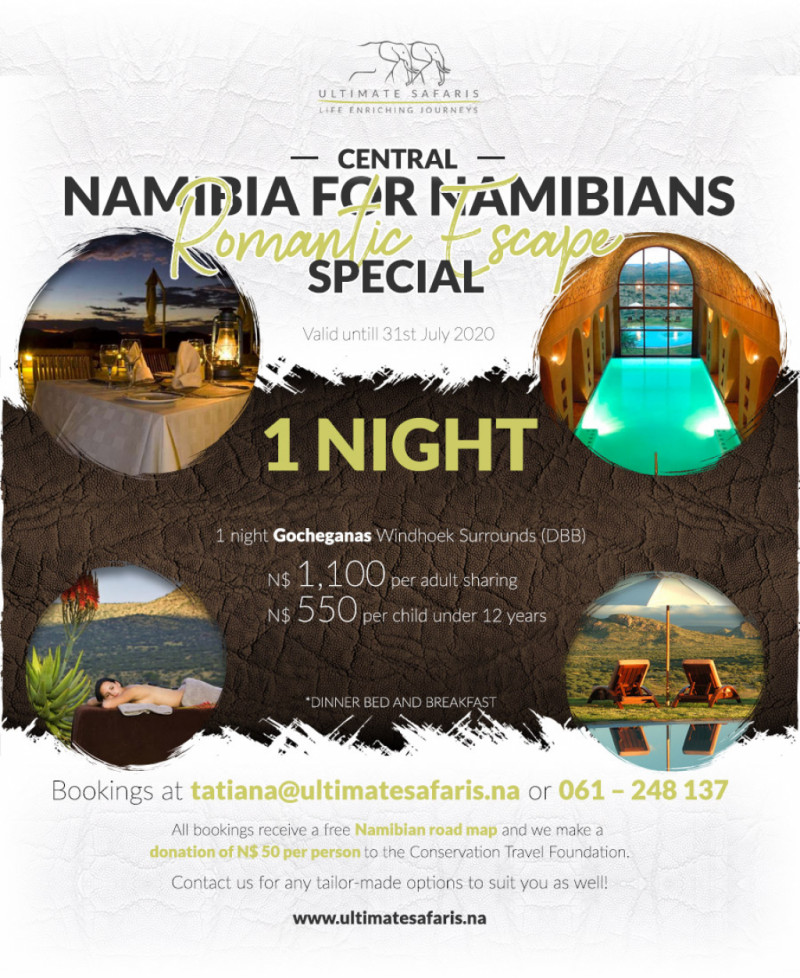 1 Night Central Namibia